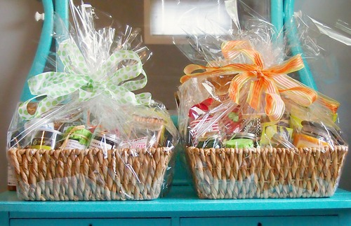 diy easy, fast,  inexpensive mother's day gift baskets  simply, Natural flower