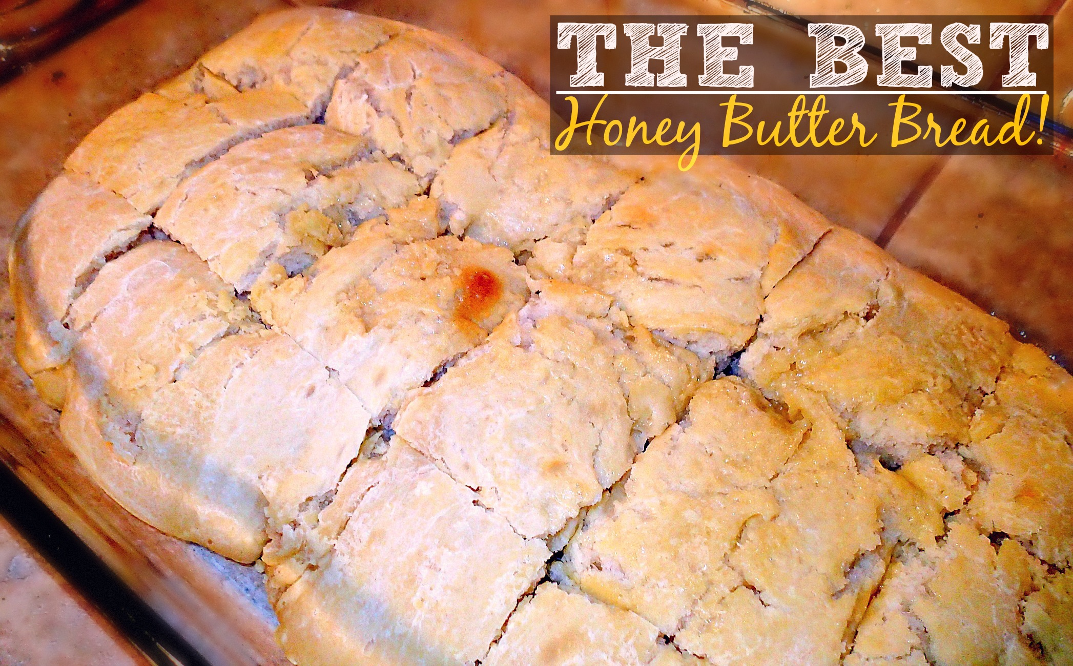 honey butter rolls (best recipe ever)