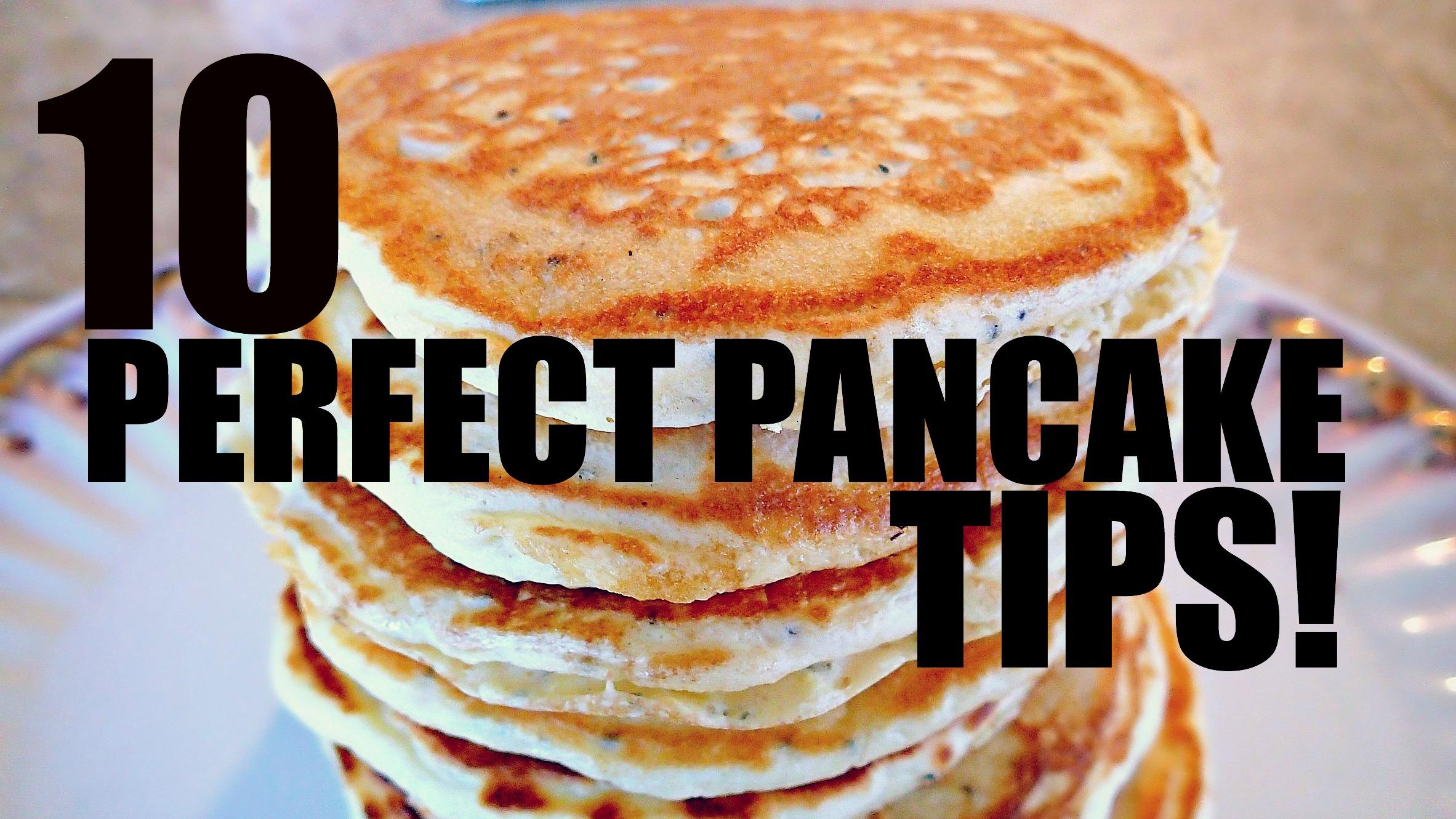 Chia Seed Pancakes & 10 Perfect Pancake Tips! - Simply Taralynn