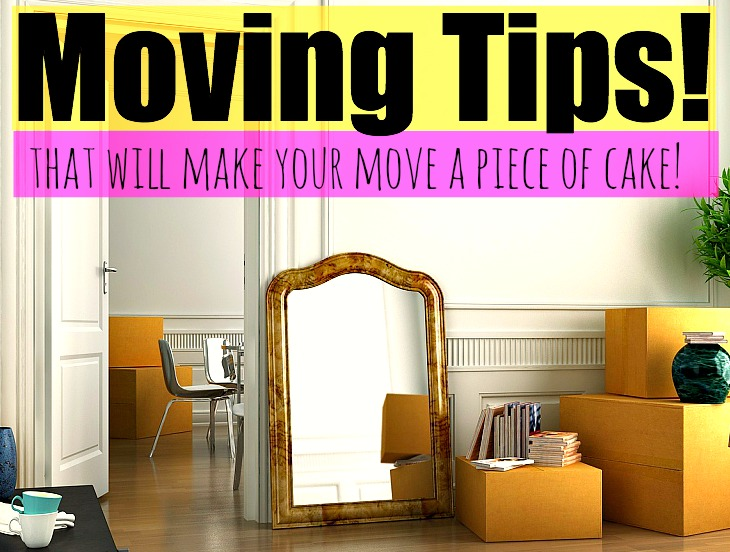 Moving tips that will make your move a piece of cake for Moving into a new build house tips