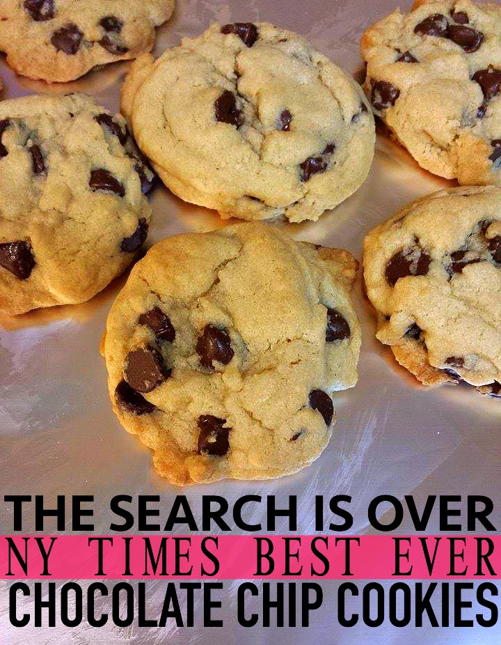 NYT Best Chocolate Chip Cookie Recipe! – Simply Taralynn