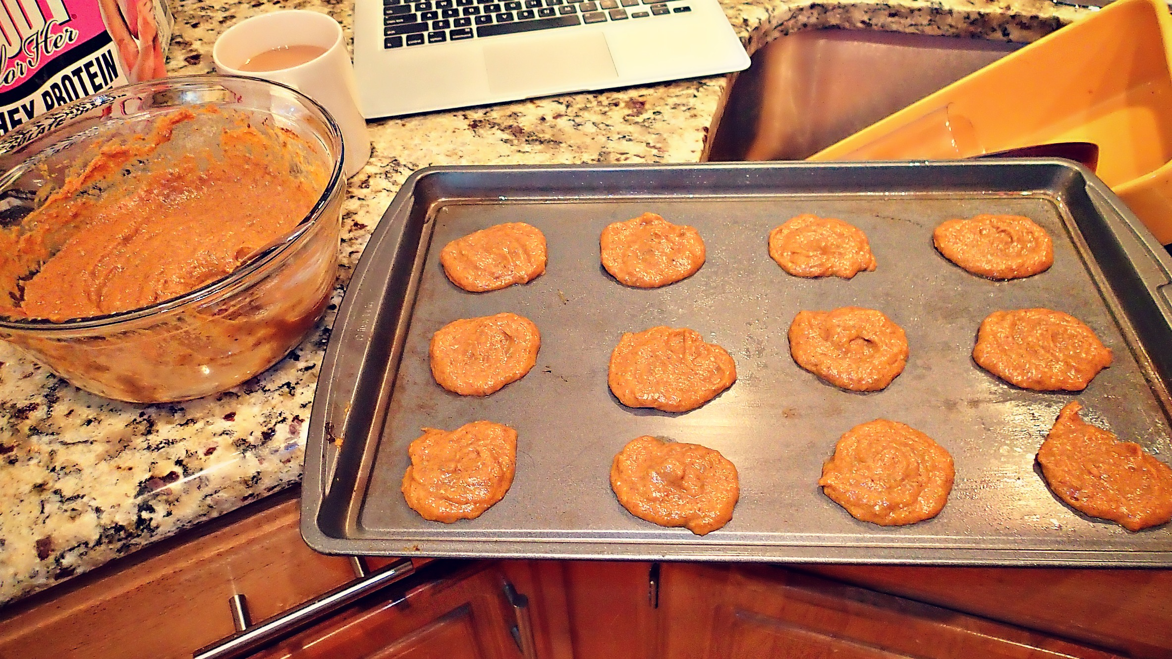 Low Carb/40 Calorie Pumpkin Protein Cookies - Simply Taralynn