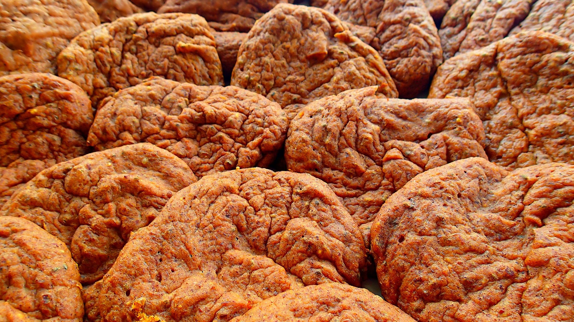 Low Carb/40 Calorie Pumpkin Protein Cookies - Simply Taralynn