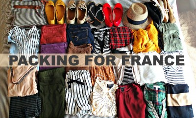 Packing For France!