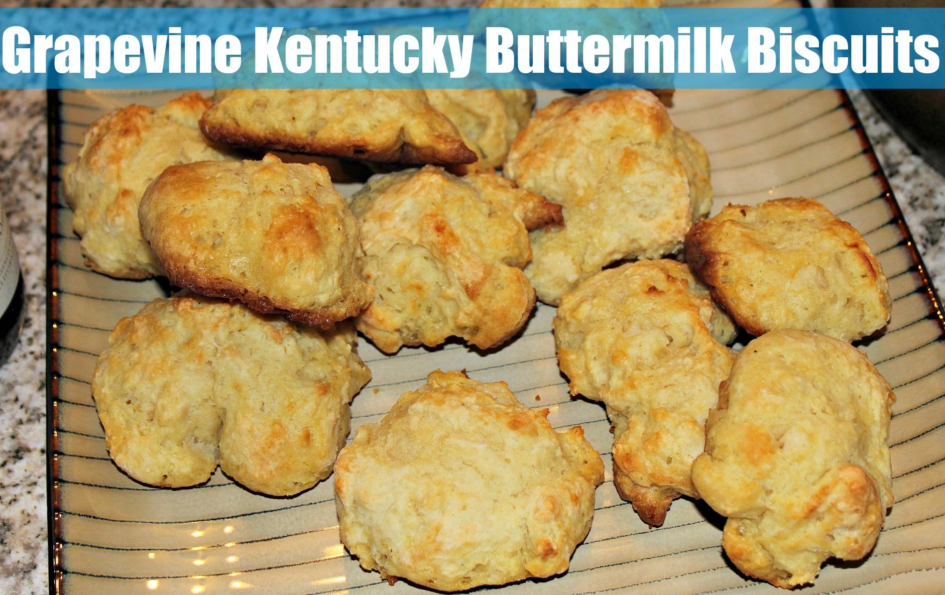 Grapevine Kentucky Buttermilk Biscuits