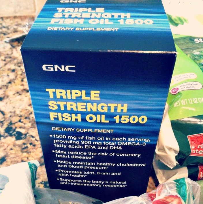 20 days of clean eating day 1 2 3 4 simply taralynn for Gnc triple strength fish oil 1500