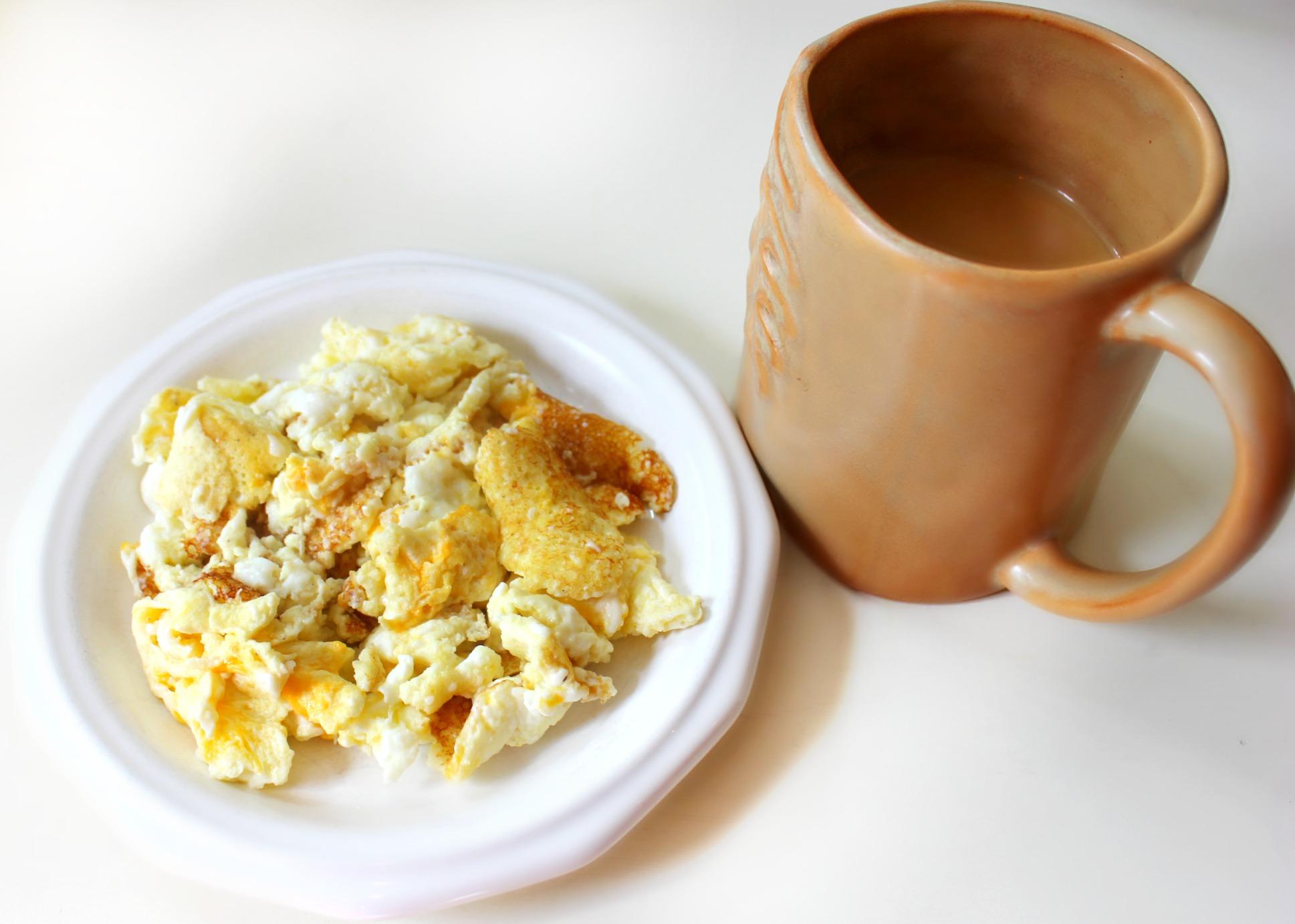 Scrambled Snack & Coffee - Simply Taralynn