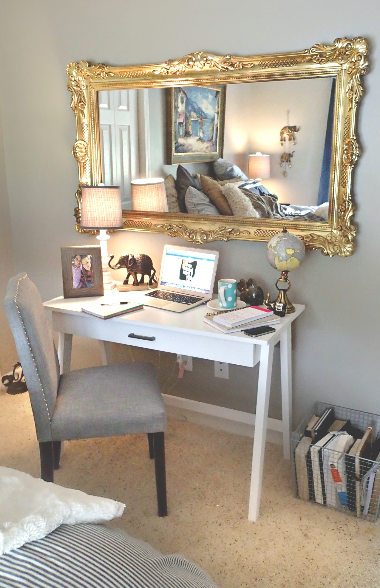 Room Decor: New Little Work Space