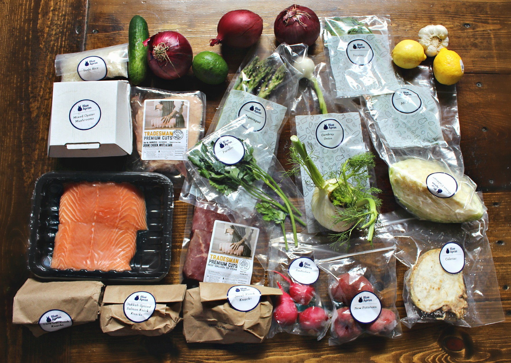 blue apron review 2 free meals for readers simply taralynn. Black Bedroom Furniture Sets. Home Design Ideas