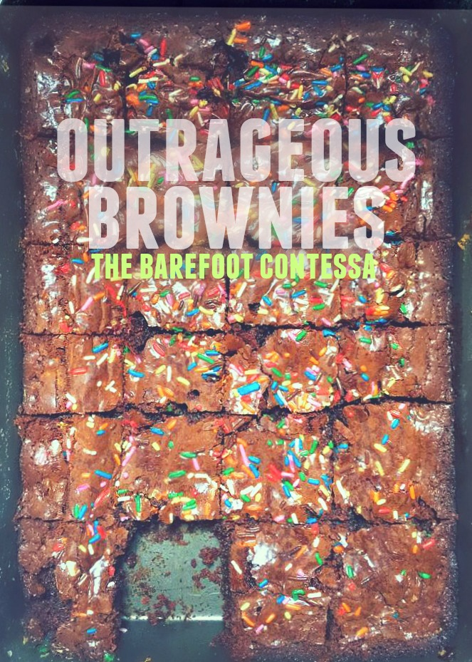 Best ever! Barefoot Contessas outrageous food network brownies!