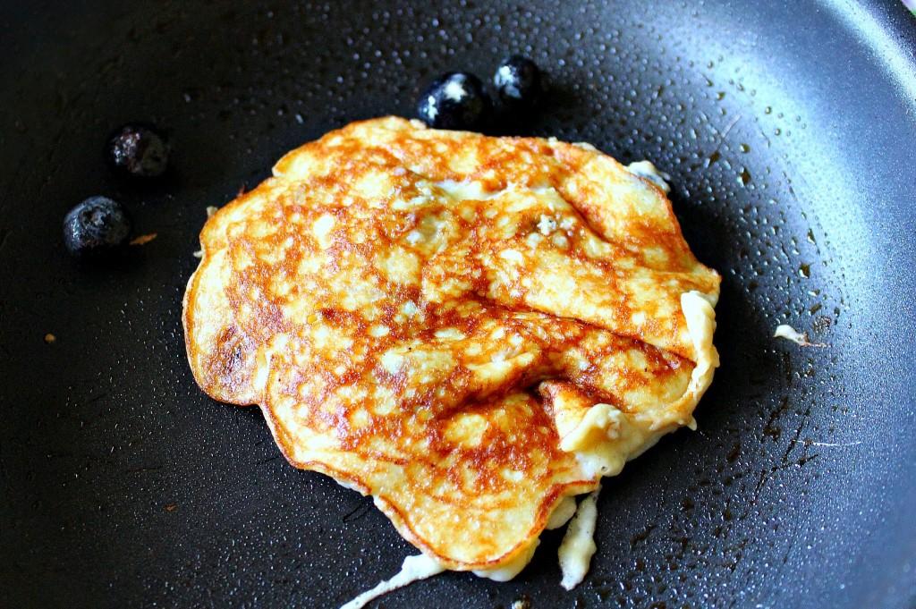 two ingredient banana egg pancakes