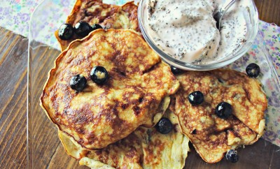 two ingredient banana egg pancakes