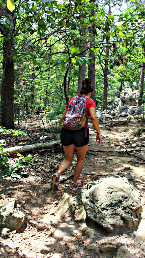 hiking crowders mountain nc
