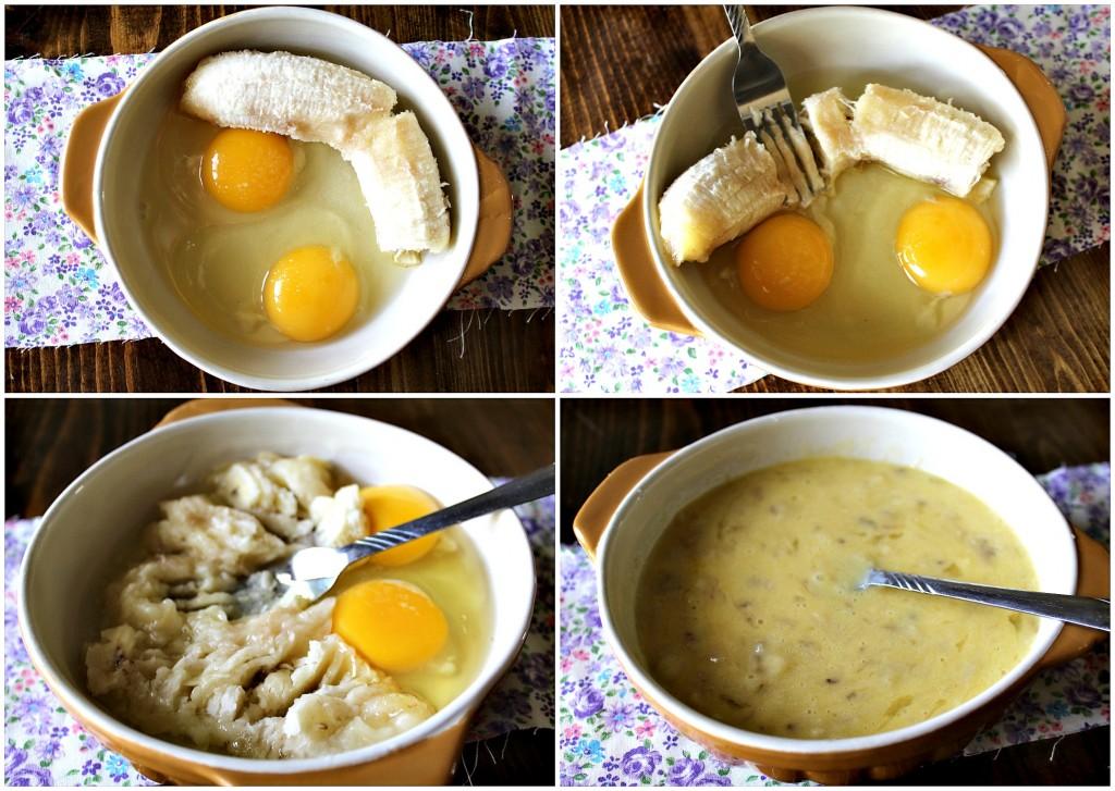 two ingredient banana egg pancake