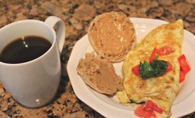 vegetable spinach tomato omelet simply taralynn