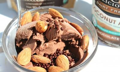 healthy chocolatey desert
