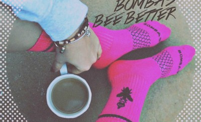 bee better with bombas socks