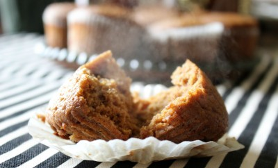 almond flour pumpkin muffin
