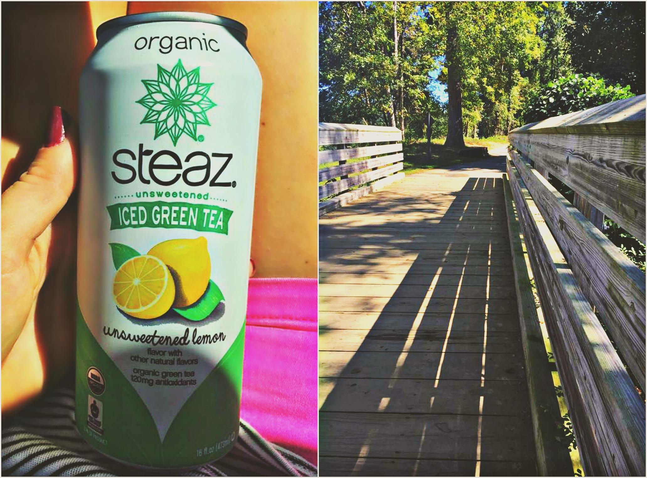 organic steaz iced green tea