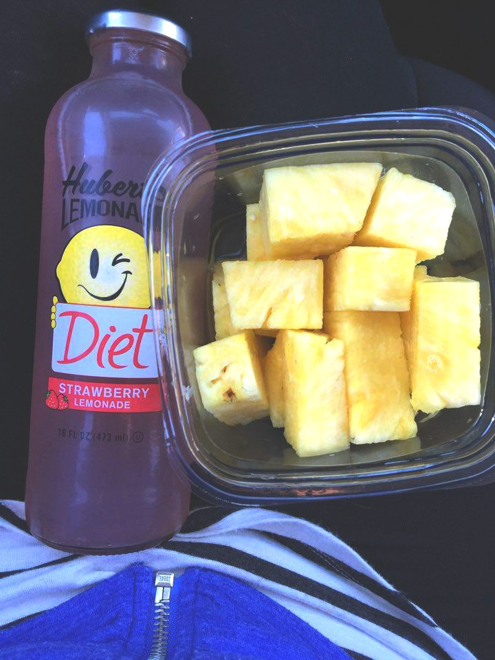 lemonade and pineapple
