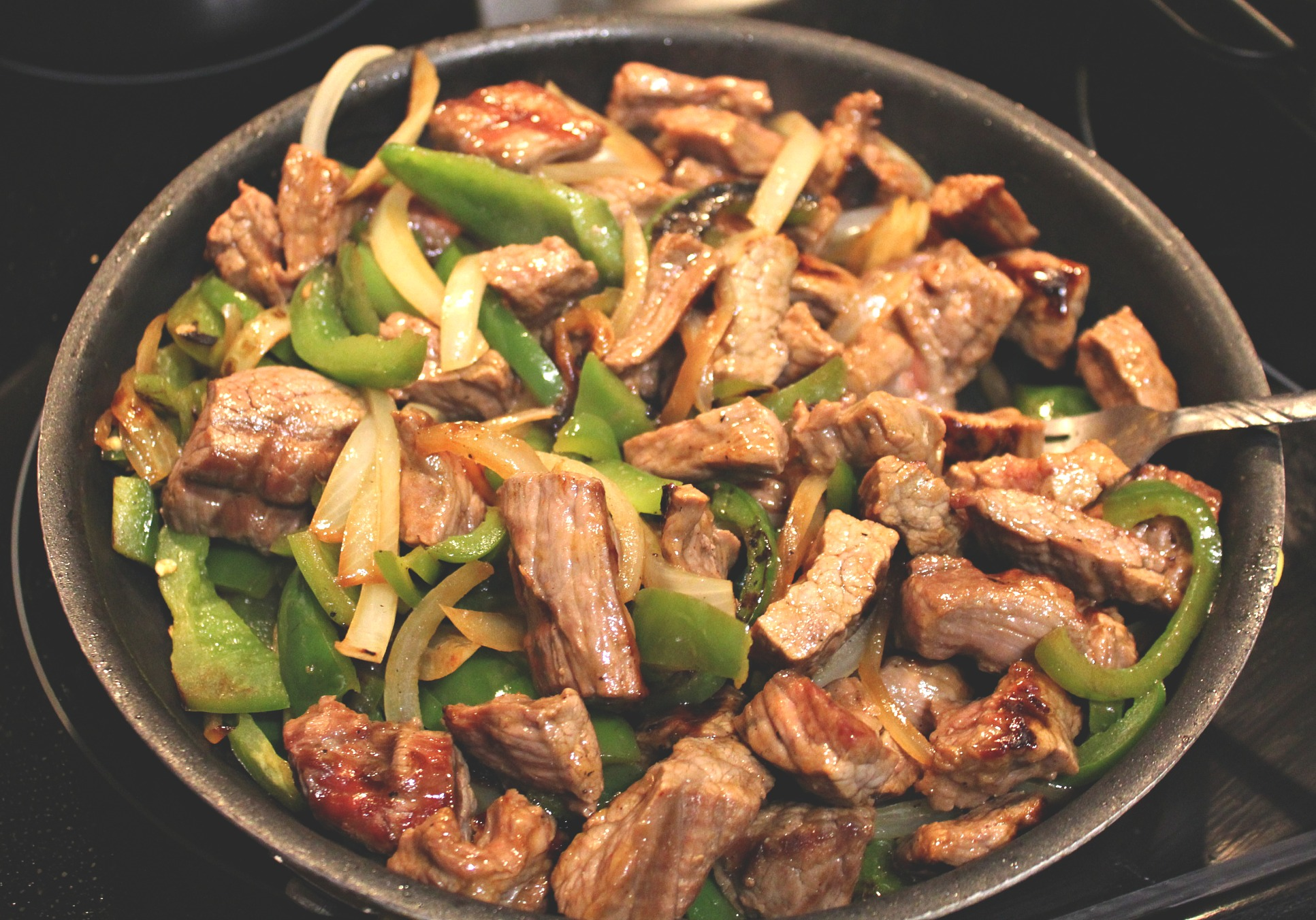 lettuce wrap steak fajitas