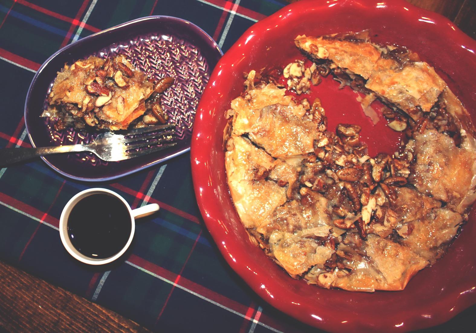 Almond Pecan Baklava
