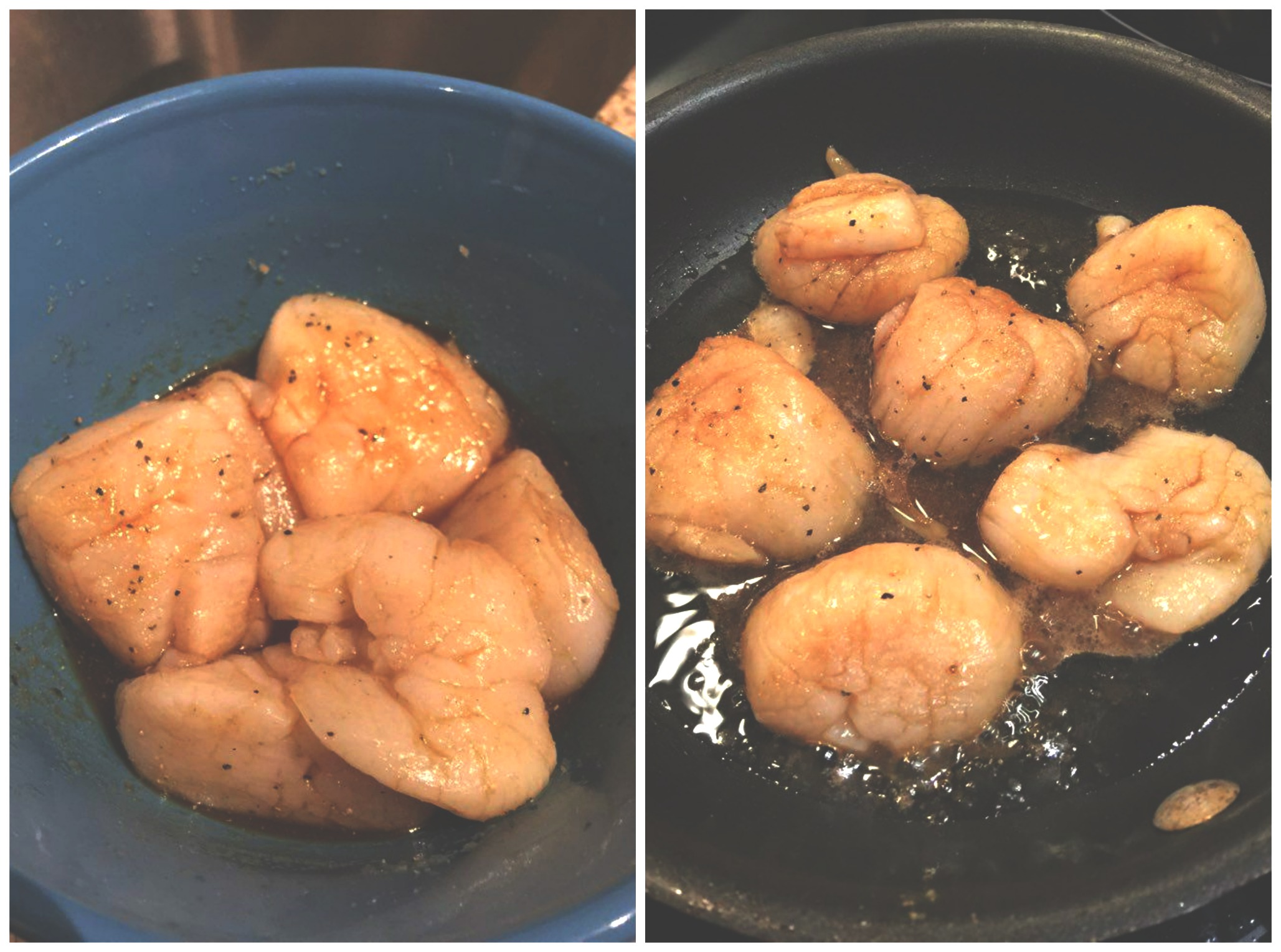 scallops at home