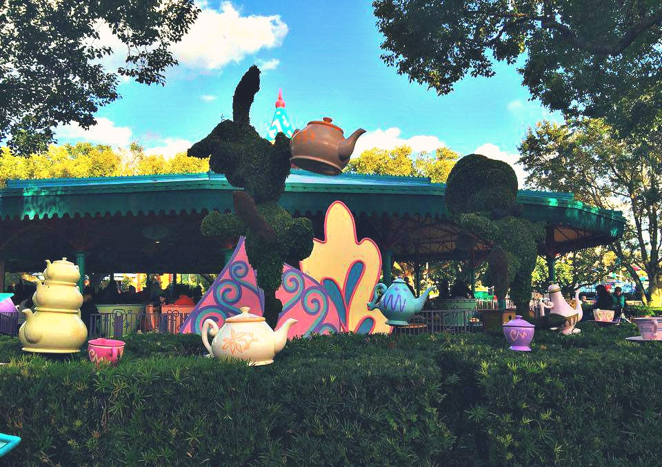 Disney World Magic Kingdom Tea Cups