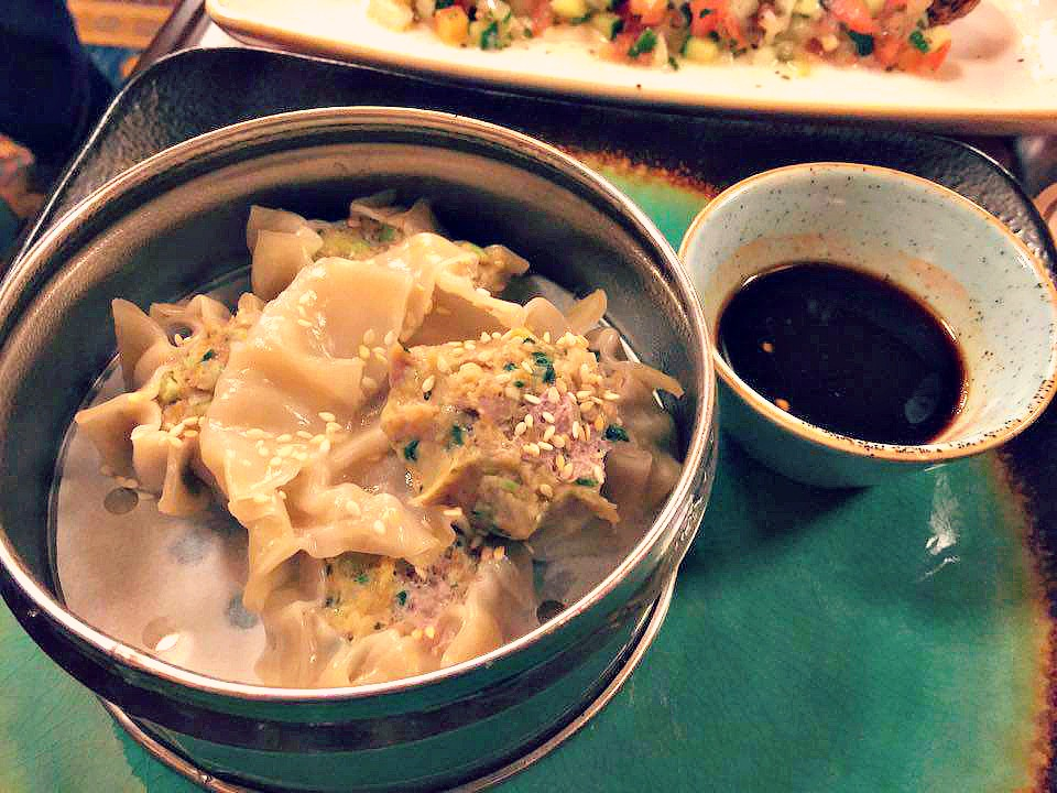 Disney World Magic Kingdom Skipper Canteen Sea Shu Mai
