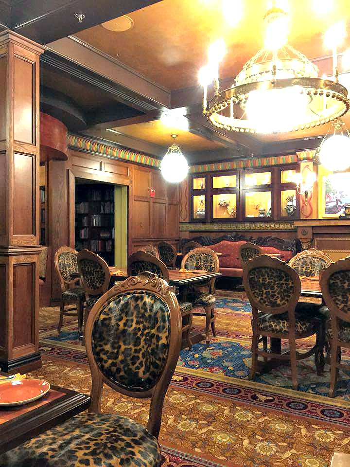 Disney World Magic Kingdom Skipper Canteen