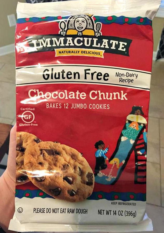 gluten free non dairy chocolate chip cookies
