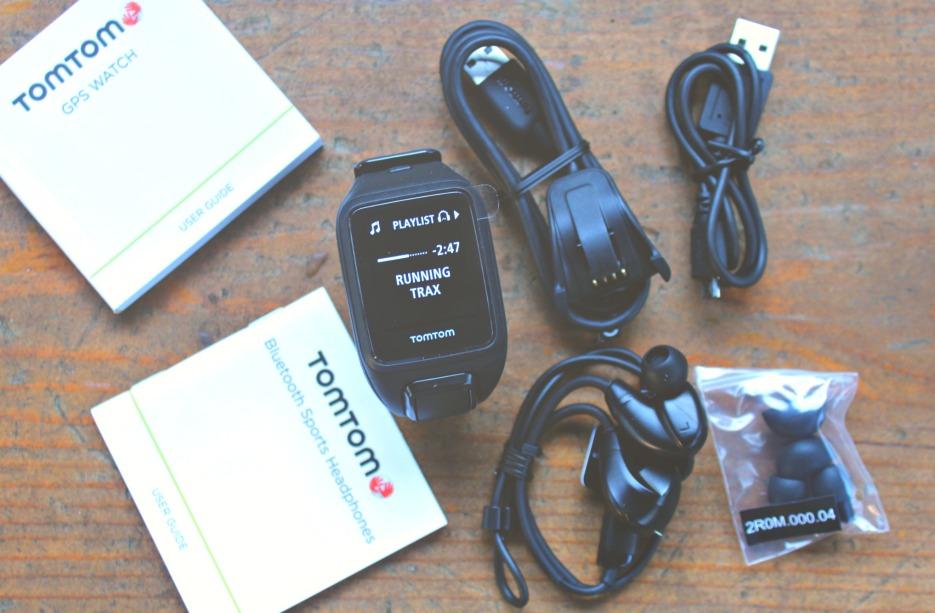 TOMTOM SPARK CARDIO + MUSIC GPS WATCH