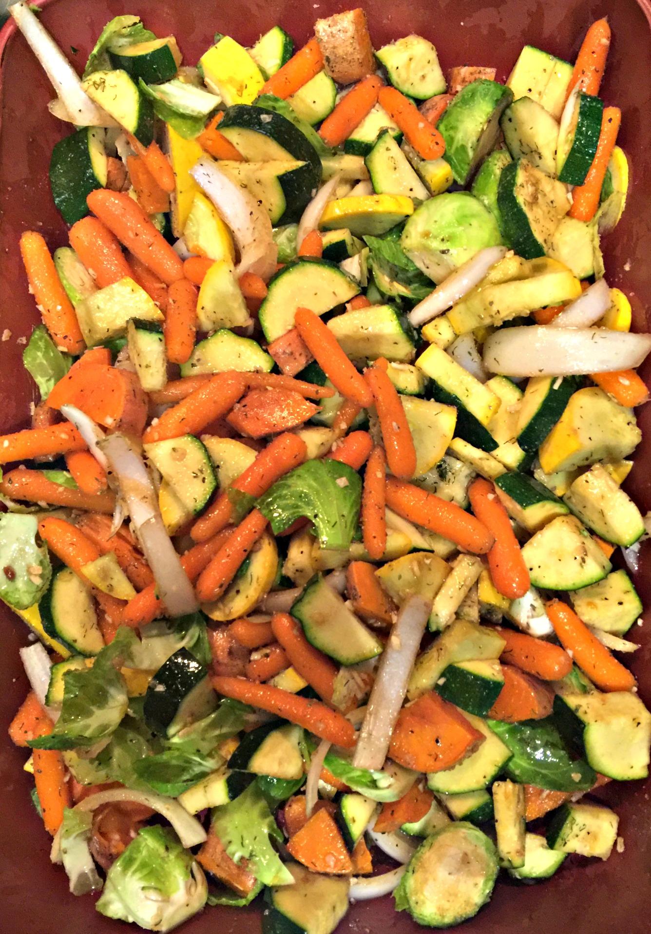 Dinner: Roasted Vegetables