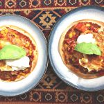 Vegetarian Hueves Rancheros