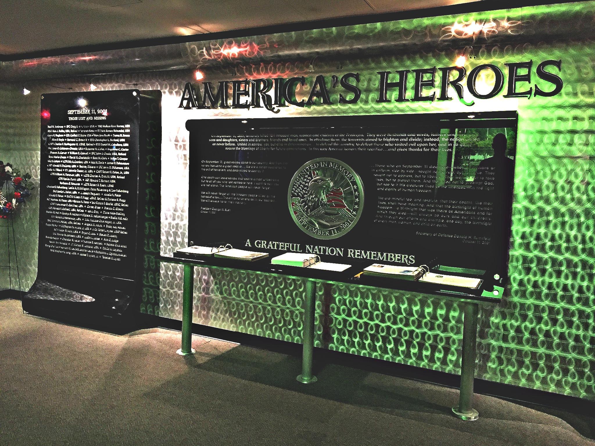 9/11 Memorial at the Pentagon Washington D.C.