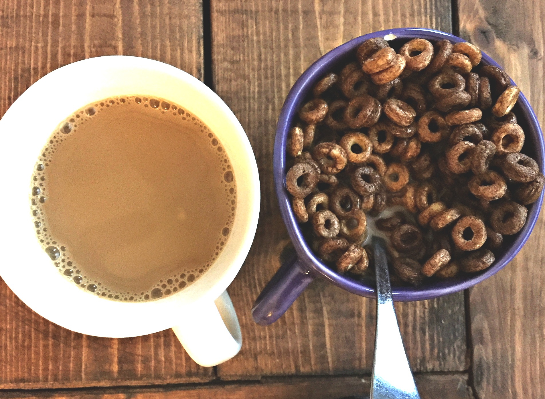 General Mills Chocolate Cheerios + Coffee