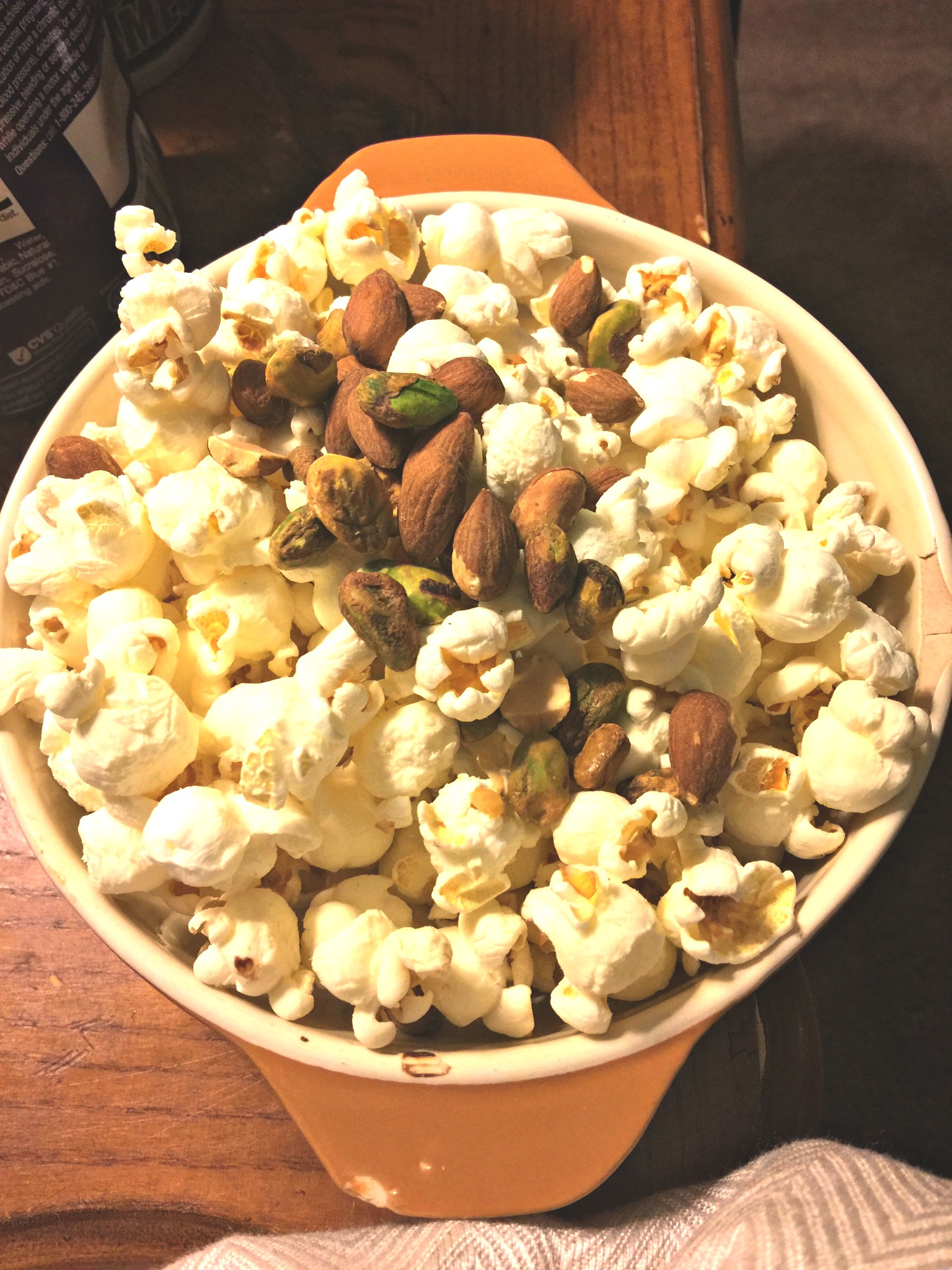 CVS ALMONDS & PISTACHIOS WITH POPCORN