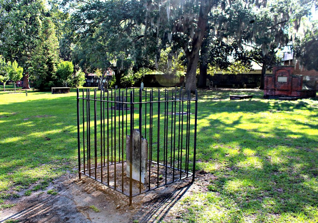 The Colonial Park Cemetery Savannah Georgia
