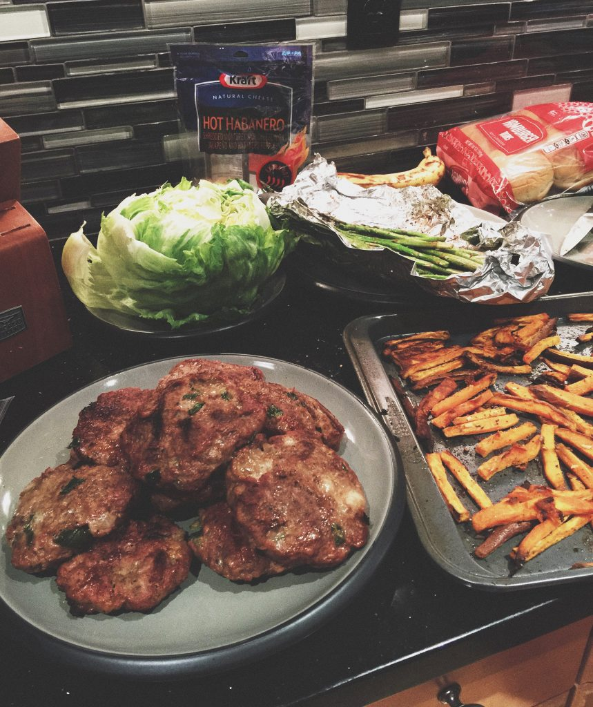 Homemade Turkey Burgers