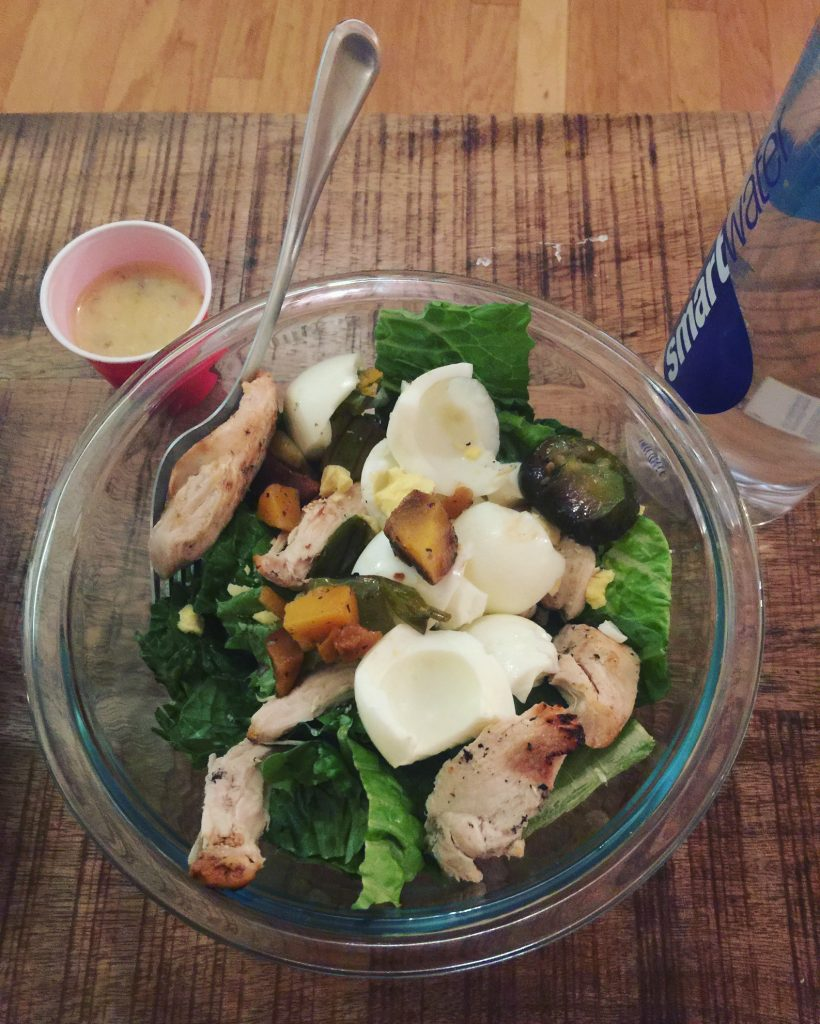 Healthy Salad July Fitness Challenge