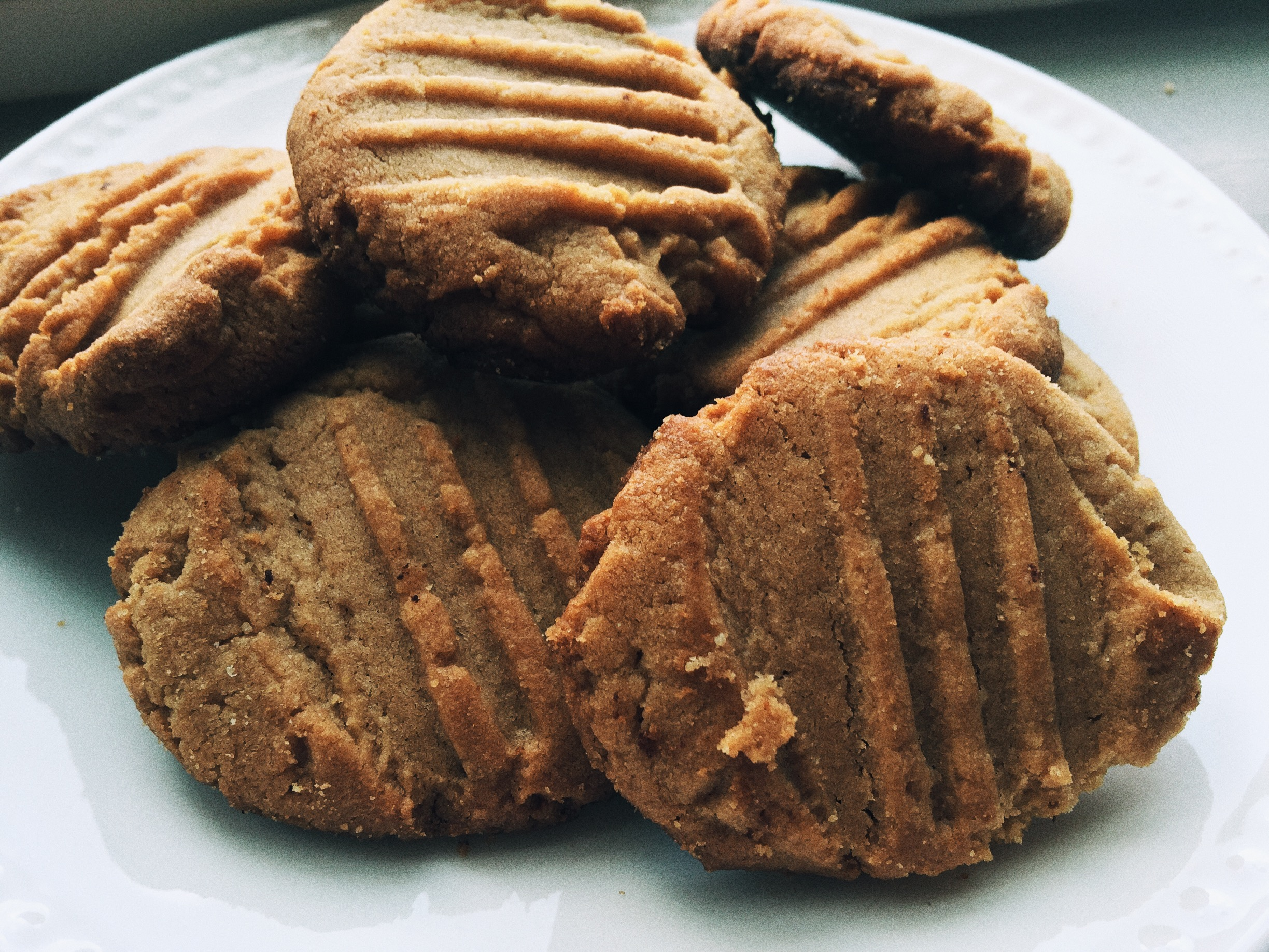 Protein Packed Peanut Butter Cookies