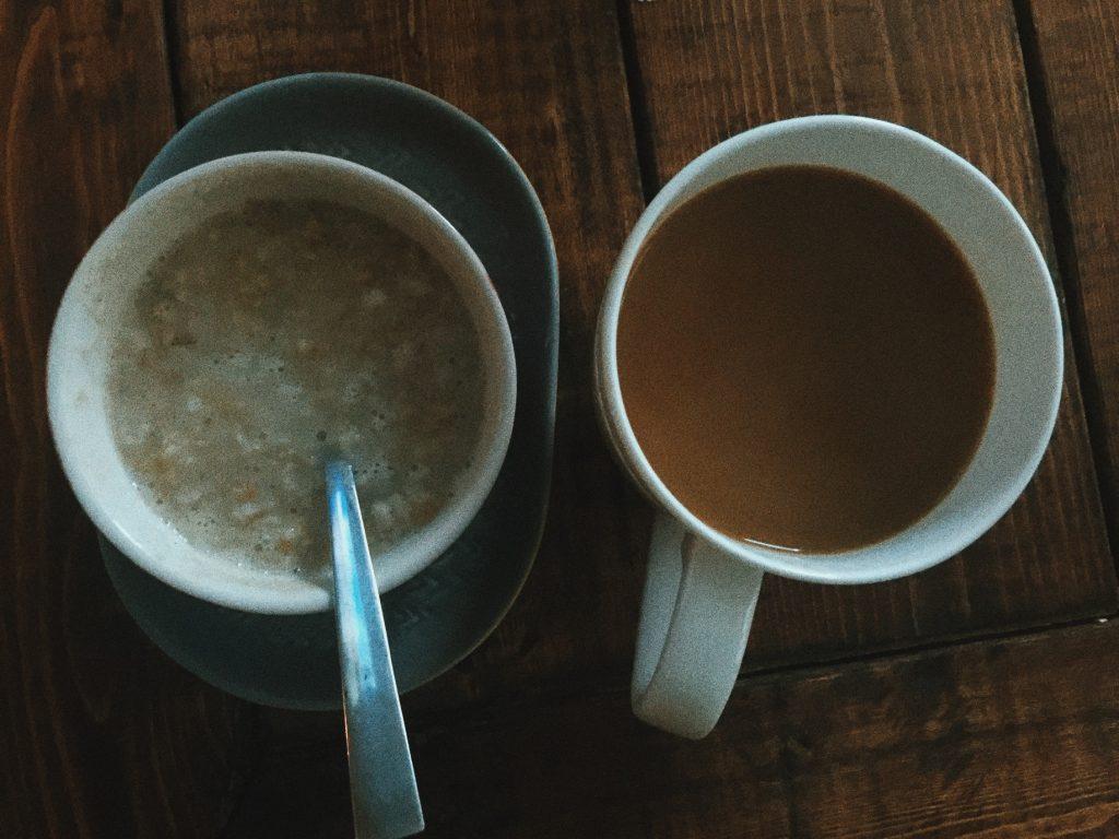 oatmeal & coffee