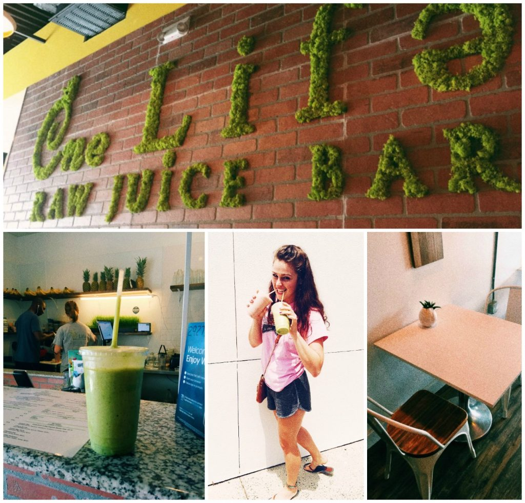 One Life Raw Juice Bar: Charlotte Nc