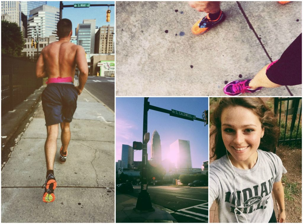 Running in the city: simply taralynn