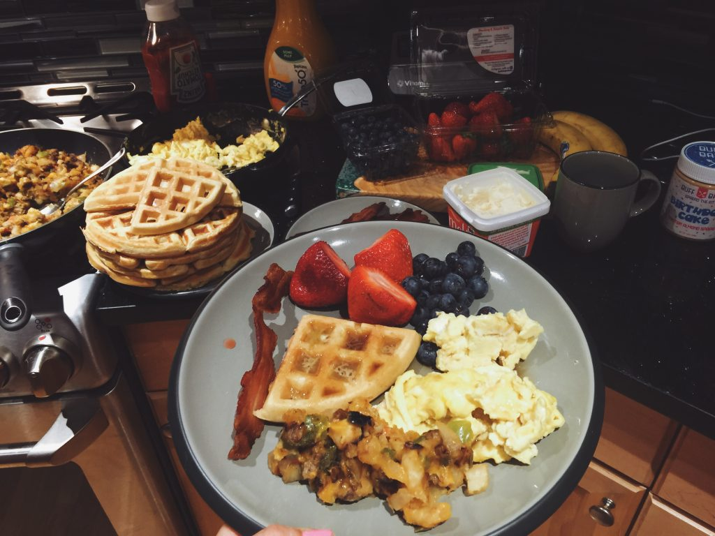 Sunday Breakfast for Dinner