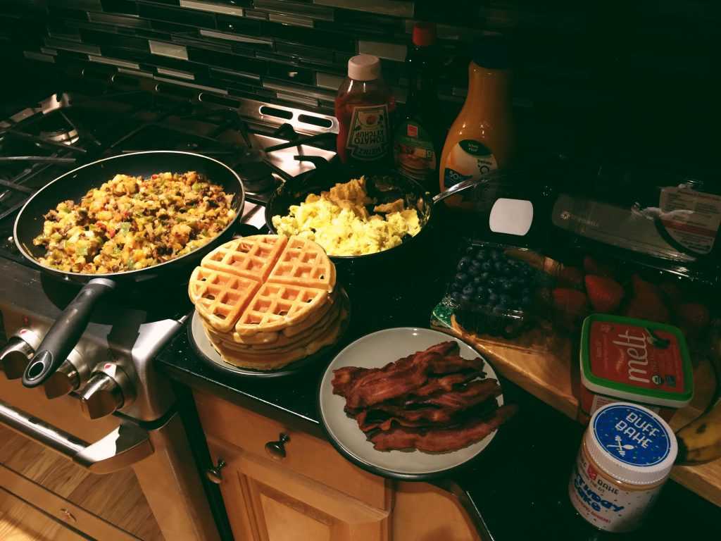 Sunday Breakfast for Dinner <3
