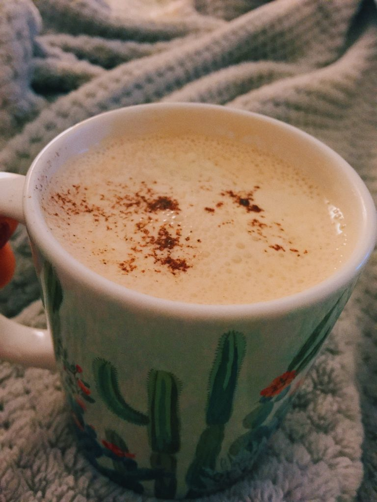 cashew milk latte