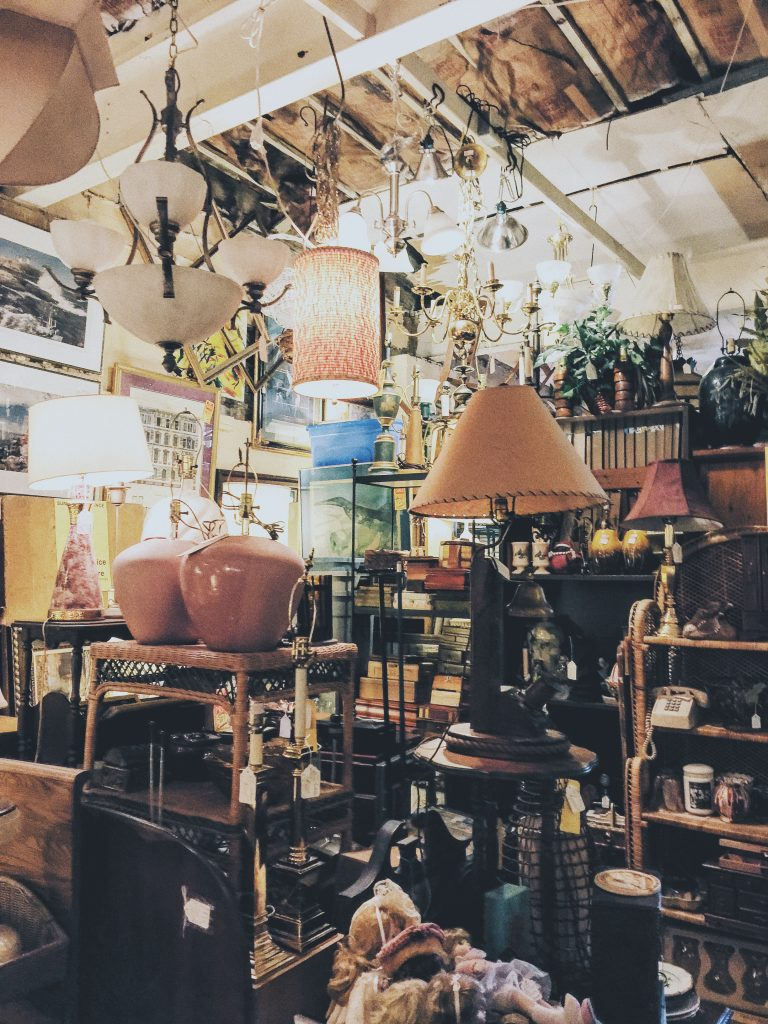 Plaza Midwood Antique & thrift shopping Charlotte NC