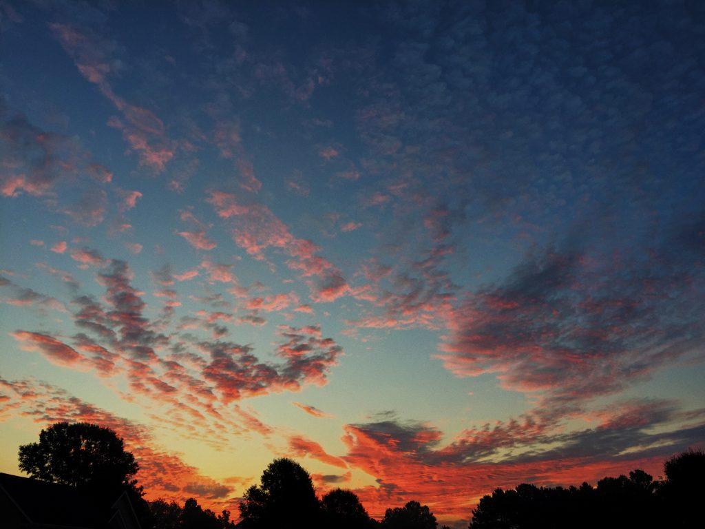 south carolina morning sky