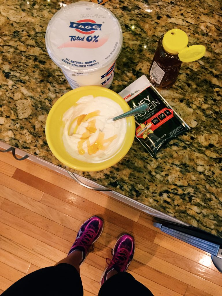 protein post workout breakfast
